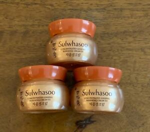 Sulwhasoo Concentrated Ginseng Renewing Cream EX 5ml x 3pcs (15ml) US Seller