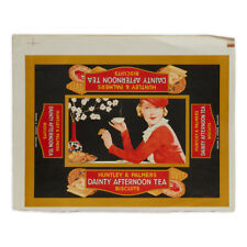 HUNTLEY & PALMERS BISCUITS PRINT PROOF TIN COVER C.1960