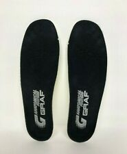 Graf Hockey Skates Anatomical Footbed Insoles Footbeds Insole Skate Liner Size M