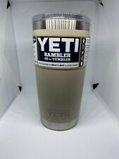 New listing Yeti 20Oz Rambler Sand - Extremly Rare - Retired Color