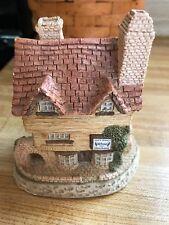 "Very Nice ""David Winter Cottage"" 1980 Wine Merchant, Hand Made In Great Britain"