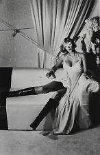 Helmut Newton Sumo Photo Print 50x70cm Paris 1975 Masked Pina Bausch Nude 1983
