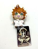 The Promised Neverland Anime Mini Mascot Toy Plush Keychain Hero Emma SG7881