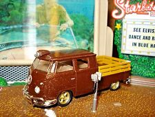 1961 MICROBUS VW DOUBLE CAB LIMITED EDITION DELUXE VOLKSWAGON 1/64 M2