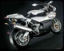 Benelli Tornado 900Tre Nov 3 A4 Metal Sign Motorbike Vintage Aged