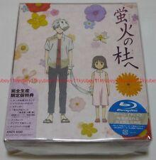 Hotarubi no Mori e Limited Edition Blu-ray Booklet Strap Card Sticker Booklet