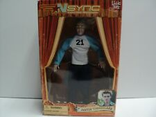 New N Sync Justin Timberlake Collectible Marionette Doll In Box