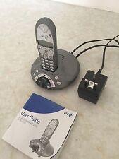 Paquete 3 teléfonos: contestador telefónico, sin cable & con Cable & Digital Con Manuales BT