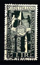 ITALIA REP. - 1949 - 50° Biennale di Venezia - 15 Lire