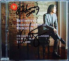 Kent NAGANO Signed BEETHOVEN The General Symphony No.5 2CD Egmont Opferlied