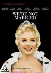 WE'RE NOT MARRIED -(DVD,Ginger Rogers, Marilyn Monroe, Victor Moore - NEW+SEALED