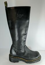 VTG DOC MARTENS 9491 KNEE BOOTS UK 6 US MEN 8 WOMEN 7 EU 39 BLACK Leather EUC