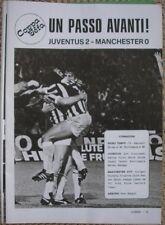 Juventus vs Manchester City 1976 UEFA Euro Cup Vive Boy' Magazine Photos