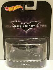 THE BAT ~ Batman ~ Dark Knight Rises ~ Hot Wheels  ~ 2015 Retro Entertainment