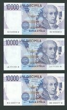 1983 ITALY replacement Banknote L.2000 Galileo UNC GEM high quality CONSECUTIVE