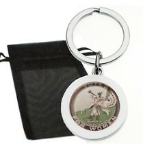 VOTES FOR WOMEN SUFFRAGETTE BUGLE METAL KEYRING WITH GIFT BAG HIGH QUALITY