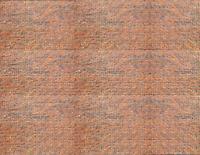 HO Scale Brick Model Train Scenery Sheets 5 Seamless 8.5x11 Light Calico