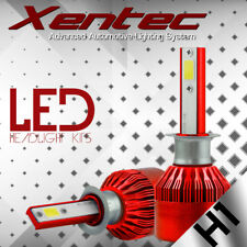 XENTEC 38800LM 388W Cree LED Headlight Kit H1 6000K Bulbs White XENON Color Pair