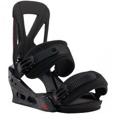 Burton Custom EST Mens Snowboard Bindings Large Black RRP£160