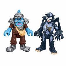 Imaginext Power Rangers 2 Figure Pack - Squatt and Baboo *BRAND NEW*