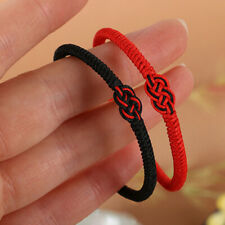 Tibetan Buddhist Handmade Knots Lucky Ropes Bracelet Bracelet Size Adjustable