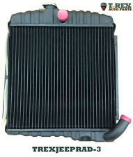 "1966-1969 Jeep CJ5, CJ6 17"" radiator with the Buick V6 225 cu.in. engine"