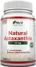 NUU Nutrition Astaxanthin Premium Strength Softgels - 180 Count