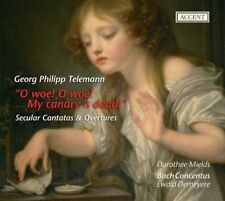 Secular Cantatas & Overtures, Mields/Bach Concentus CD | 4015023241992 | New