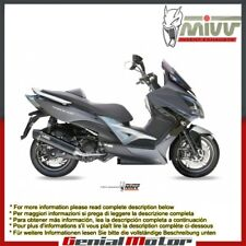 Mivv Complete Exhaust Stronger Black Steel for Kymco Xciting 400 2013 > 2016