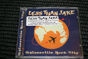 Less Than Jake – Gainesville Rock City (2001) 3 track CD