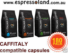 180 coffee capsules for Caffitaly / woolworths / MAP by Italian Coffee
