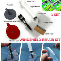 Car Windshield Windscreen Glass Chip Crack SET Car Repair Tool DIY Kit DH ZT