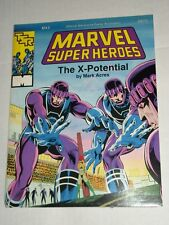 Tsr Marvel Superheroes X-Potential Official Game Accessory 6875