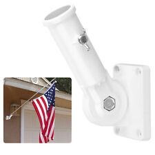 """Wallmount Adjustable Mounting Bracket Nylon Flag Pole Holder 1"""" flagpole Dia USA"""