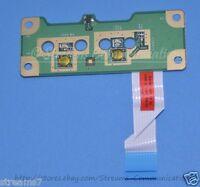 HP Compaq CQ60 G60 CQ50 G50 Warrior Power Button Board w/ Ribbon Cable