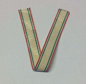 Nastro Mignon-Riduzione per Medaglia al Merito Croce Rossa CRI