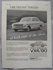 1963 Vauxhall VX4/90 Original advert No.2