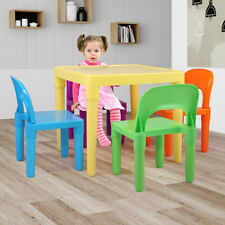 Kids Table and Chairs Play Set Toddler Child Toy Activity School Home Furniture