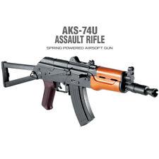 Academy Korea Full Size Assualt Rifle Airsoft Pistol BB Replica Toy Gun AKS-74U