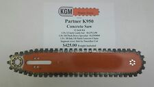 Partner K950 Chainsaw   12 Inch Concrete Kit ----- Bar, Chain, and Sprocket