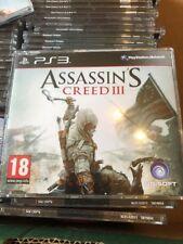PS3 Assassins Creed III 3 Promo Juego (Completo juego promocional) Ubisoft PAL