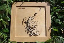 3D Scotland Map - Wooden Topographical Map - Scotland Map - Wooden Contour Map