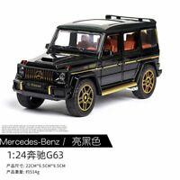 1:24 New Mercedes-Benz G63 Diecast Metal Toy Car Model G-Wagon Diecast (ePacket)