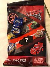 Disney Pixar Cars 3 Mini Racer Racers Fabulous Lightning Mcqueen #14 Die Cast
