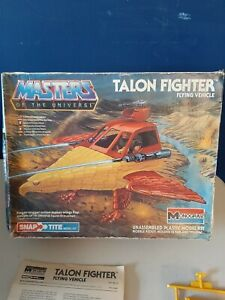 "Vintage Monogram Masters of The Universe MOTU ""Talon Fighter"" Complete"