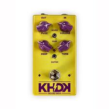 KHDK Scuzz Box Geranium-voiced Fuzz Kirk Hammett Guitar Effects Stompbox Pedal
