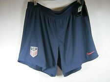 NWT Women's USA Nike Soccer/Athletic Shorts Blue size Extra Large XL (A34)