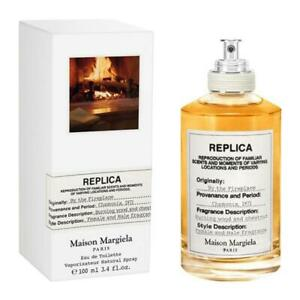Replica By the Fireplace by Maison Margiela 3.4oz / 100ml EDT *NEW SEALED BOX*