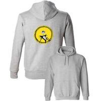 Jack Skellington Halloween Print Sweatshirt Unisex Hoodies Graphic Hoody Tops
