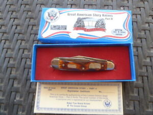 NEW 1978 BOKER USA HYDRO ELECTRICITY Knife GREAT AMERICAN STORY USA 1790 IN BOX